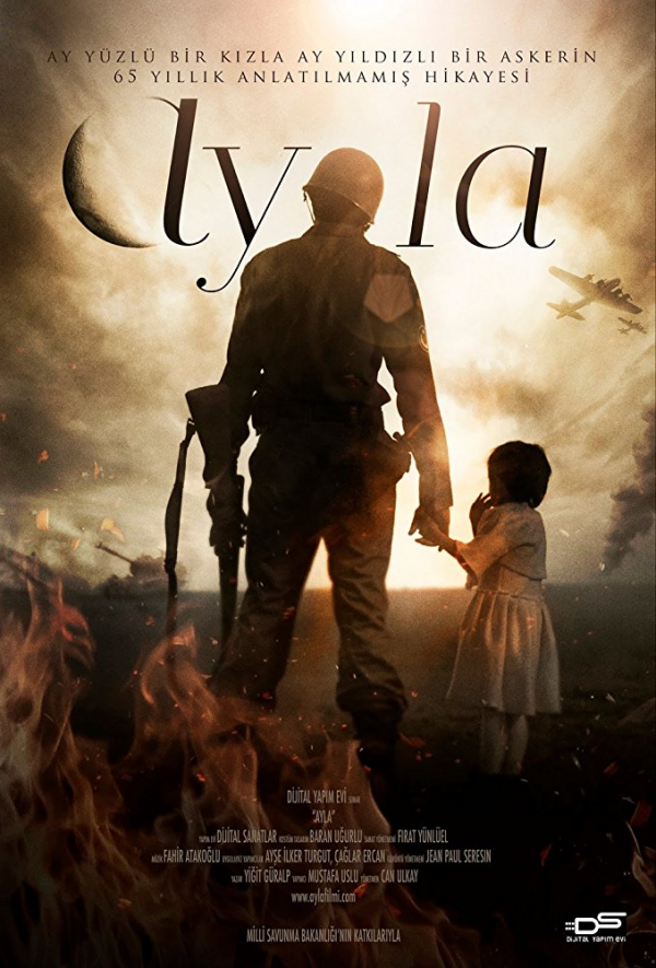 영화 <아일라: 전쟁의 딸>(Ayla: The Daughter of War) 포스터.